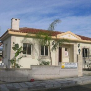 For Sale – 3 bedroom detached bungalow in Pyrgos, Limassol