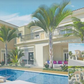 For Sale – 4 bedroom luxury detached house along beachfront of  Pyrgos, Limassol