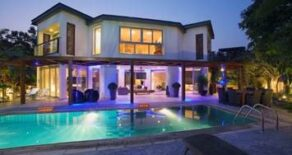 3 bedroom detached luxury house on the beach