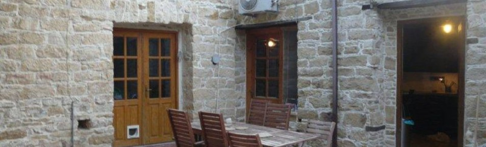 3 bedroom traditional stone built house in Yermasoyia Village