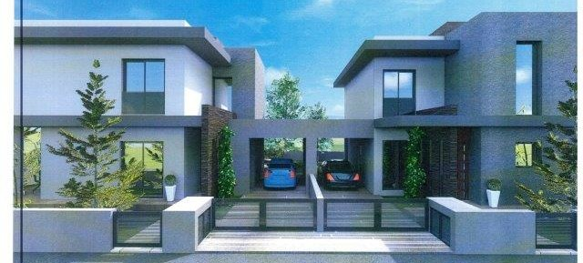 3 bedroom brand new link detached house in Parekklissia