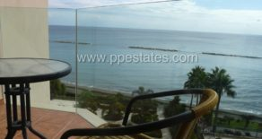 Unobstructed sea view 2 bedroom front line apartment in Amathus