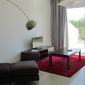 2 bedroom furnished apartment in gated complex in Potamos Germasogeia, Limassol