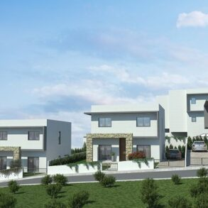 For Sale - Brand new 3 bedroom detached houses in Finikaria, Limassol