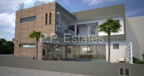 For Rent – New 3 bedroom detached modern house with roof garden in Ekali, Limassol