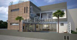 New 3 bedroom detached modern house with roof garden in Ekali