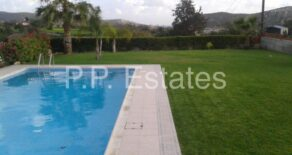 For Sale – 4 bedroom detached bungalow in Pyrgos, Limassol