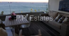 4 bedroom duplex penthouse with spectacular unobstructed sea views on Molos