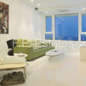 For Sale - Potamos Yermasoyia – Luxury 1 bedroom apartment with full sea views, opposite the beach.