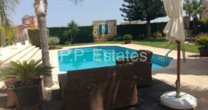 For Rent – 4 bedroom spacious detached house in Agias Sylas, Limassol