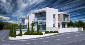 For Sale – 3 bedroom brand new detached house with sea views in Parekklisia, Limassol