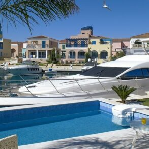 For Sale - Limassol Marina – Luxury 3 bedroom villa with private swimming pool
