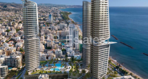 For Sale – Luxury high rise 2, 3 & 4 bedroom apartments opposite the beach in Neapolis, Limassol