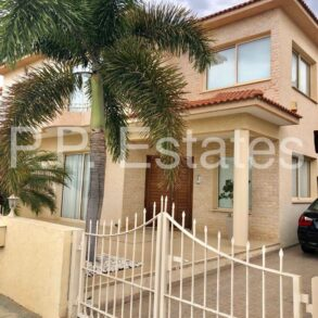 For Sale - Kato Polemidia – 4 bedroom semi-detached house