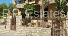 4 bedroom detached stone house in Parekklissia
