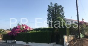 For Rent – 3 bedroom partly furnished detached house in Parekklisia, Limassol