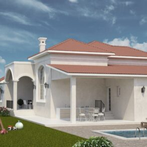Brand new 4 bedroom detached bungalow in Akrounda