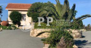 For Rent – 3 bedroom detached hilltop bungalow in Pyrgos, Limassol