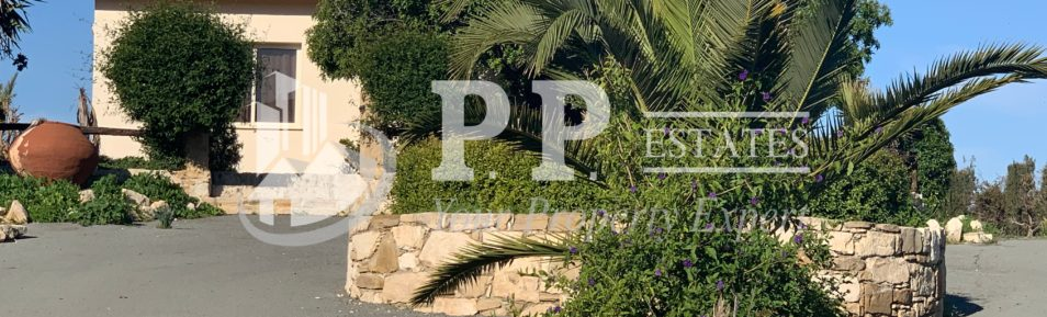 For Rent – 3 bedroom detached hilltop bungalow in Pyrgos, Limassol