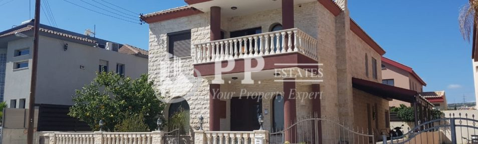 For Sale – 4 bedroom detached house in Kato Polemidia, Limassol