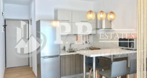 For Sale – Fully renovated 1 bedroom apartment opposite the sea in Potamos Germasogeia, Limassol