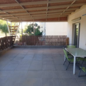2 bedroom apartment newly renovated opposite Dasoudi beach in papas area
