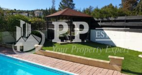 For Rent – 3 bedroom detached furnished bungalow with swimming pool in Pyrgos, Limassol