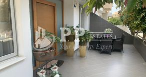 For Rent – 2 bedroom luxury furnished ground floor house in Mesa Geitonia, Limassol