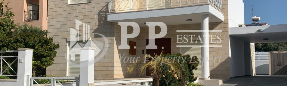 For Rent – 4 bedroom luxury detached house with extra maid's room, in Columbia, Potamos Germasogeias, Limassol