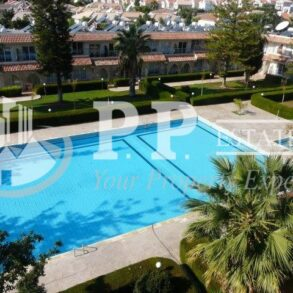 For Rent - 1 bedroom furnished apartment in gated complex 100m to the sea in Potamos Germasogeia, Limassol
