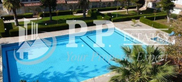 For Rent – 1 bedroom furnished apartment in gated complex 100m to the sea in Potamos Germasogeia, Limassol