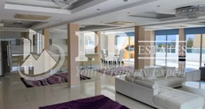 For Rent – Spectacular 6 bedroom penthouse apartment in gated complex with sea view opposite seafront in Agios Tychonas, Limassol