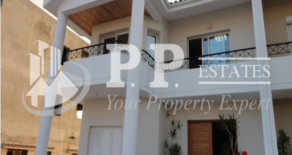 For Sale – 4 bedroom semi detached house with panoramic sea view in Laiki Lefkothea, Limassol