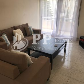 For Rent - 3 bedroom furnished apartment with s/pool and sea view in Potamos Germasogeia, Limassol