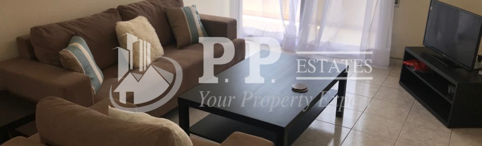 For Rent – 3 bedroom furnished apartment with s/pool and sea view in Potamos Germasogeia, Limassol