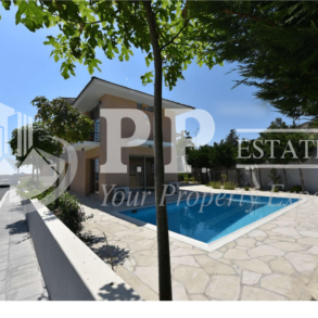 For Sale - Brand new 3 bedroom detached villa near seafront in Pyrgos, Limassol