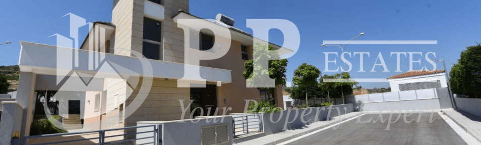 For Sale – Brand new 3 bedroom detached villa near seafront in Pyrgos, Limassol