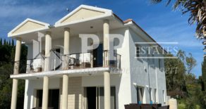 For Sale – 4 bedroom detached villa with lovely views in Parekklisia, Limassol