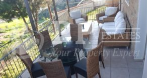 For Rent – 4/5 bedroom detached furnished house with swimming pool and view in Pyrgos, Limassol