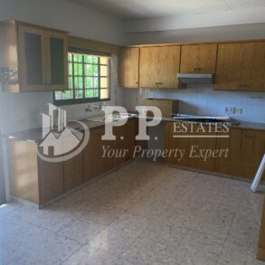 For Rent - Spacious 3 bedroom ground floor house in Potamos Germasogeia, Limassol