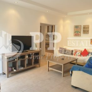 For Sale - 2 bedroom ground floor apartment with garden in Agios Tychonas seafront, Limassol