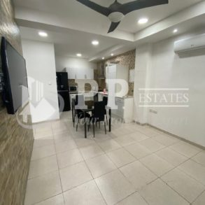 For Rent - 1 bedroom ground floor furnished modern apartment in Ag. Ioannis, Limassol